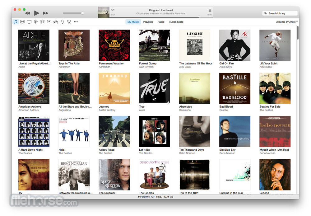 iTunes 12.7.2 Captura de Pantalla 1