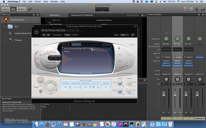 MainStage 3.5.2 Screenshot 2