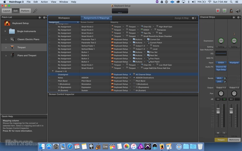 MainStage 3.5.2 Screenshot 3