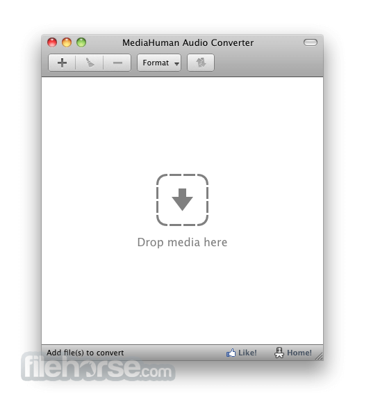 MediaHuman Audio Converter 1.7.1 Screenshot 1