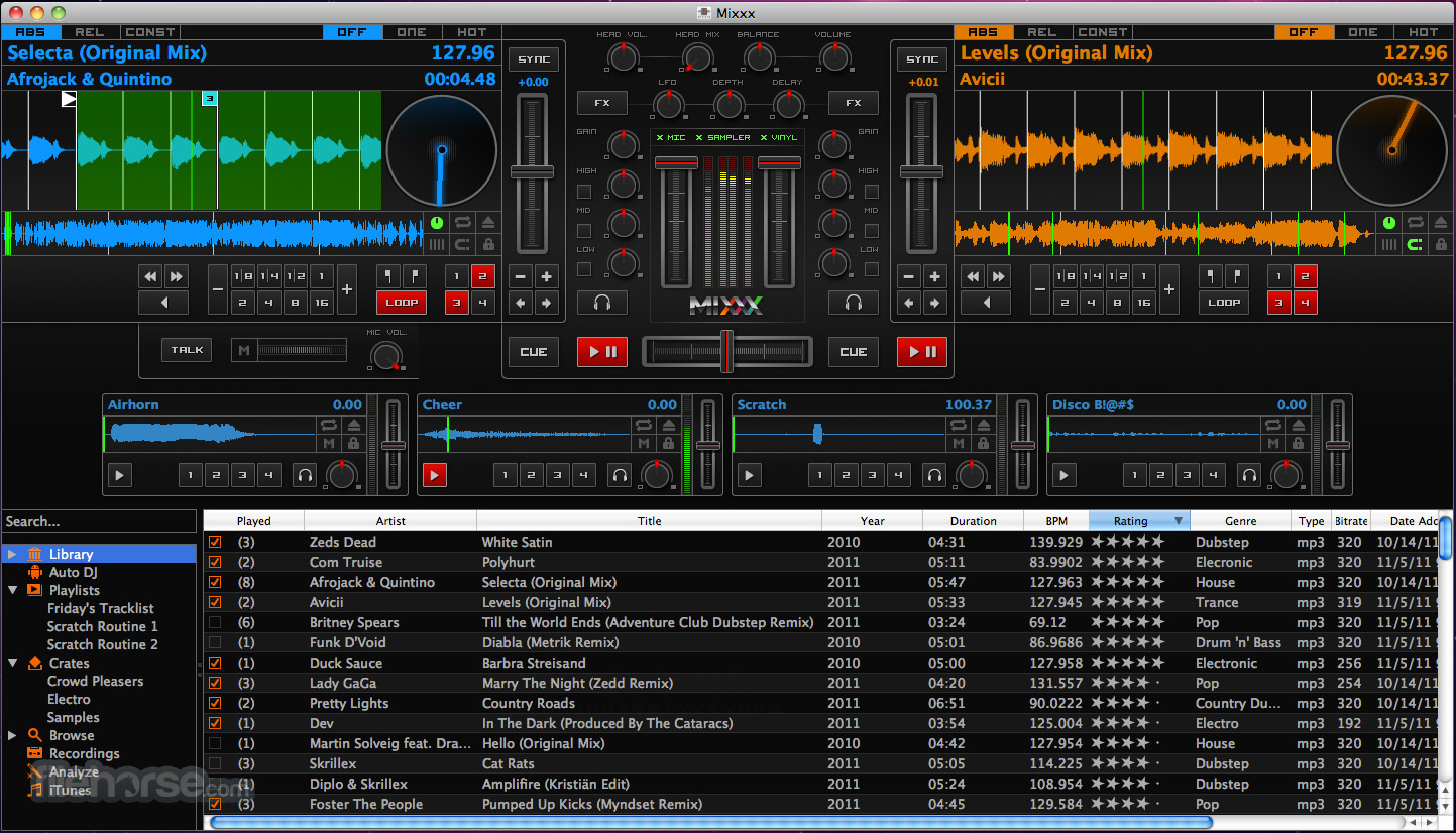 Mixxx 1.11.0 Screenshot 1