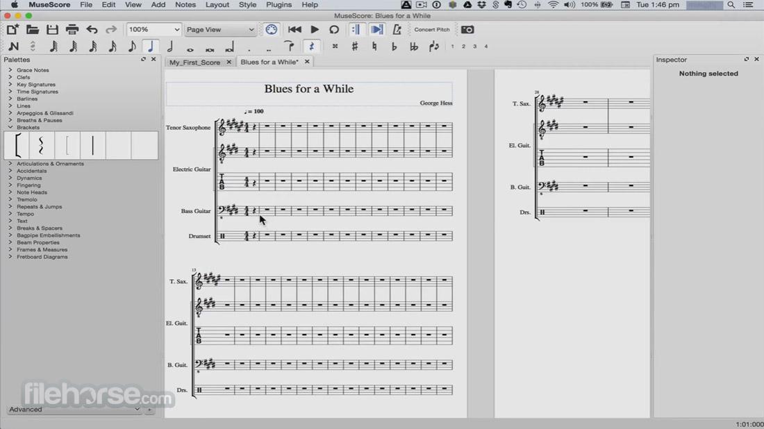 MuseScore 2.0.2 Captura de Pantalla 3