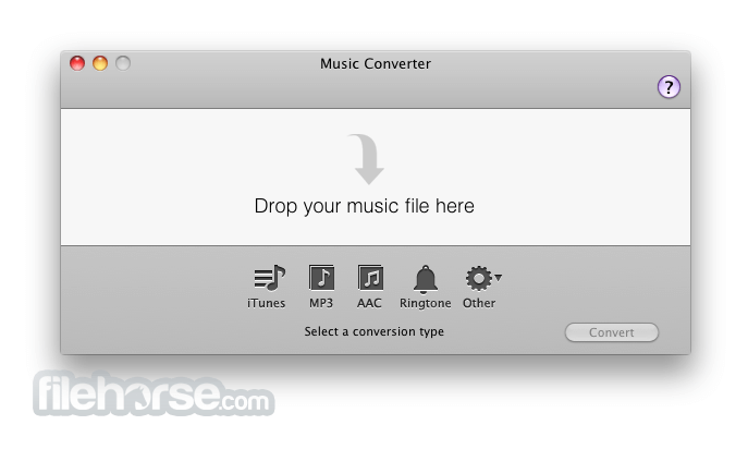 Music Converter 1.5.2 Screenshot 1