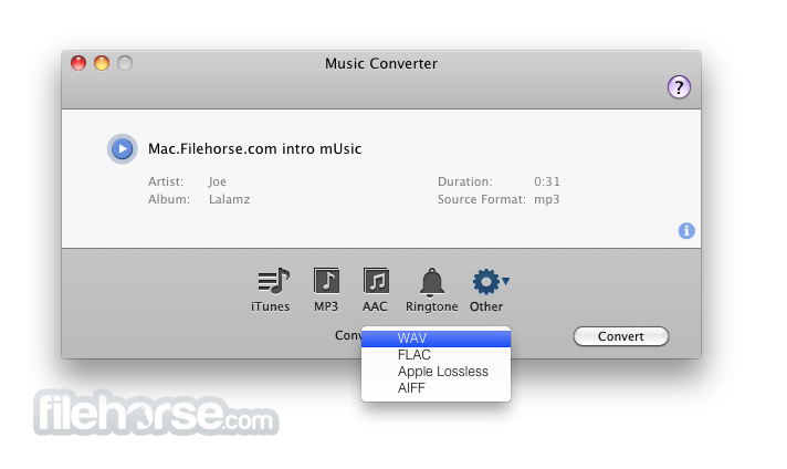 Music Converter 1.5.2 Screenshot 2