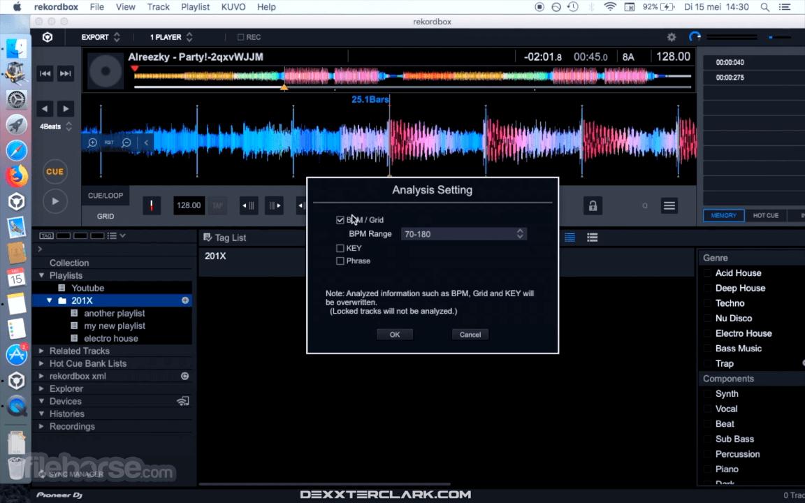rekordbox 6.2.0 Captura de Pantalla 1
