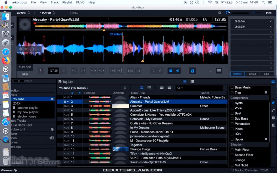 rekordbox 6.2.0 Screenshot 2