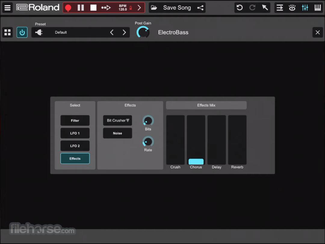 Roland Zenbeats 1.1.1.7718 Screenshot 3