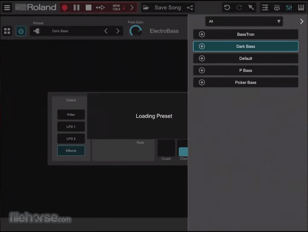 Roland Zenbeats 1.1.1.7718 Screenshot 4