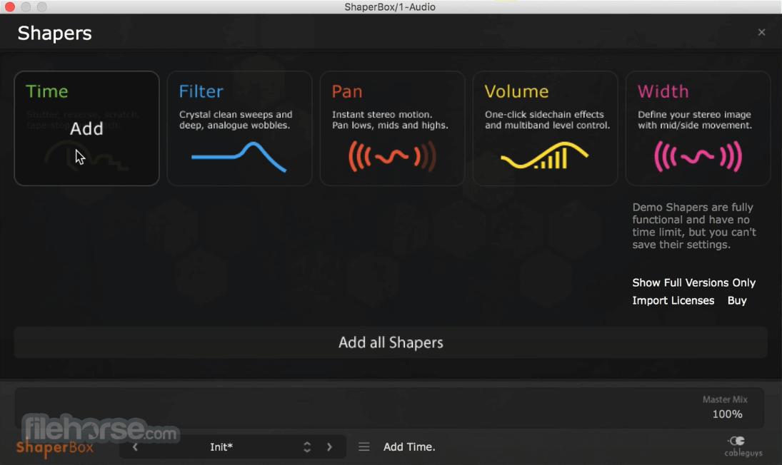 ShaperBox 2.1 Screenshot 1