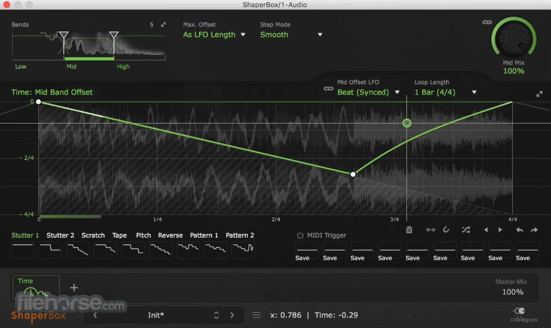 ShaperBox 2.1 Screenshot 2