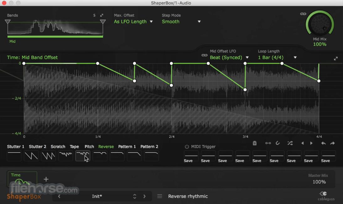ShaperBox 2.1 Screenshot 3
