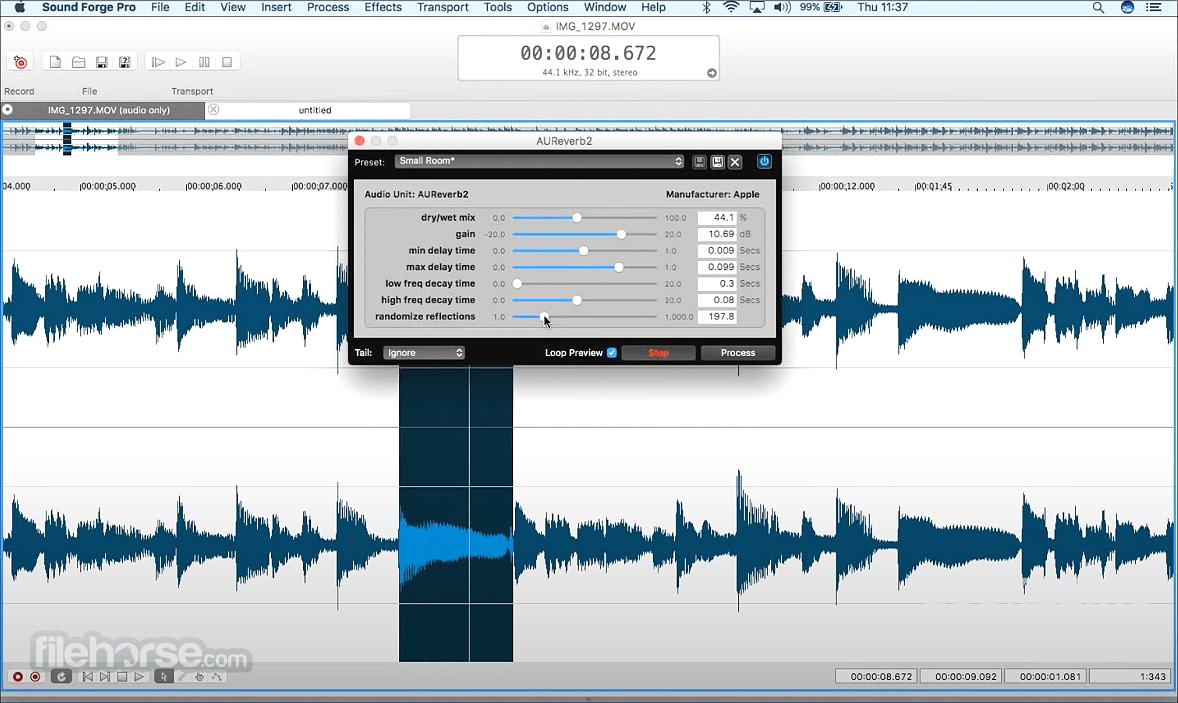 Sound Forge Pro 2.5.0 Build 133 Screenshot 4