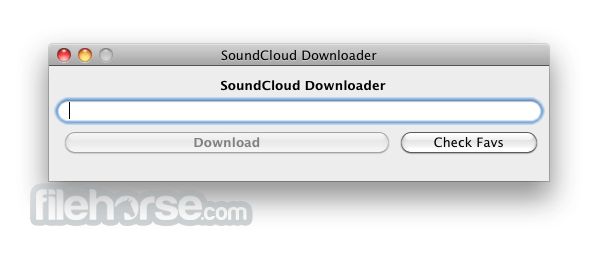 Soundcloud Downloader 2.5.1 Screenshot 1