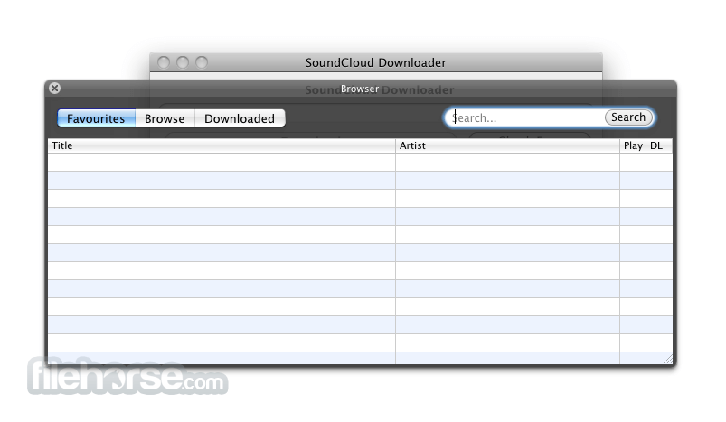 Soundcloud Downloader 2.3.6 Captura de Pantalla 3