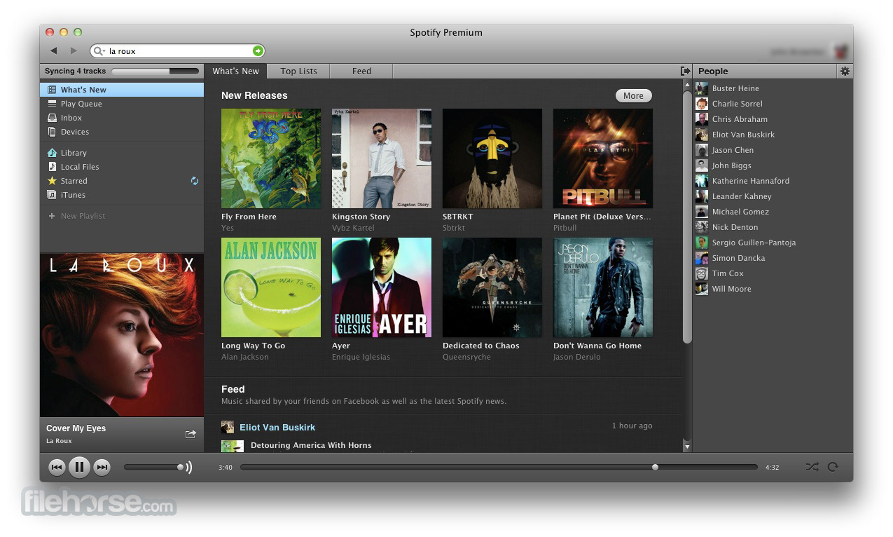 Spotify 0.9.6.81 Screenshot 1