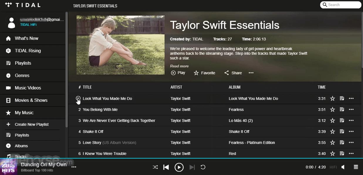 TIDAL Desktop 2.18.4 Screenshot 4