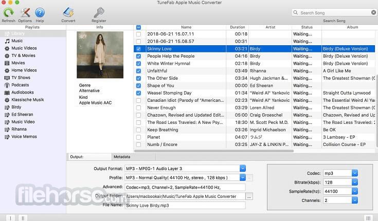 TuneFab Apple Music Converter 7.0.6 Screenshot 1