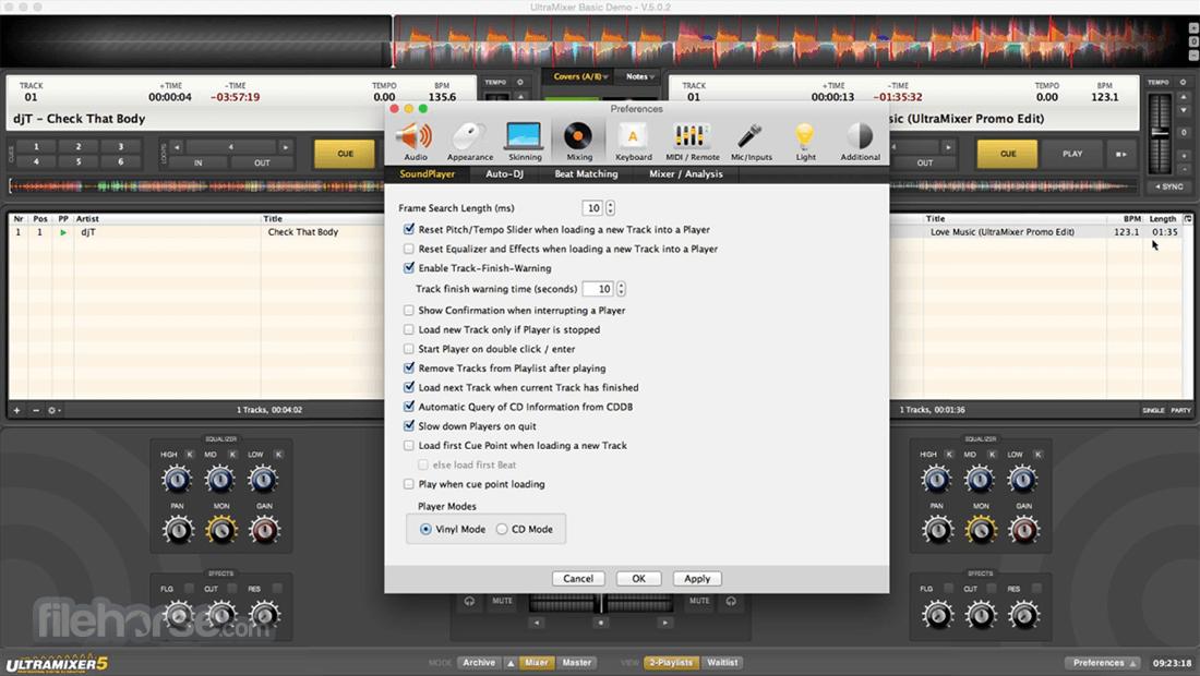 UltraMixer 6.2.8 Screenshot 2