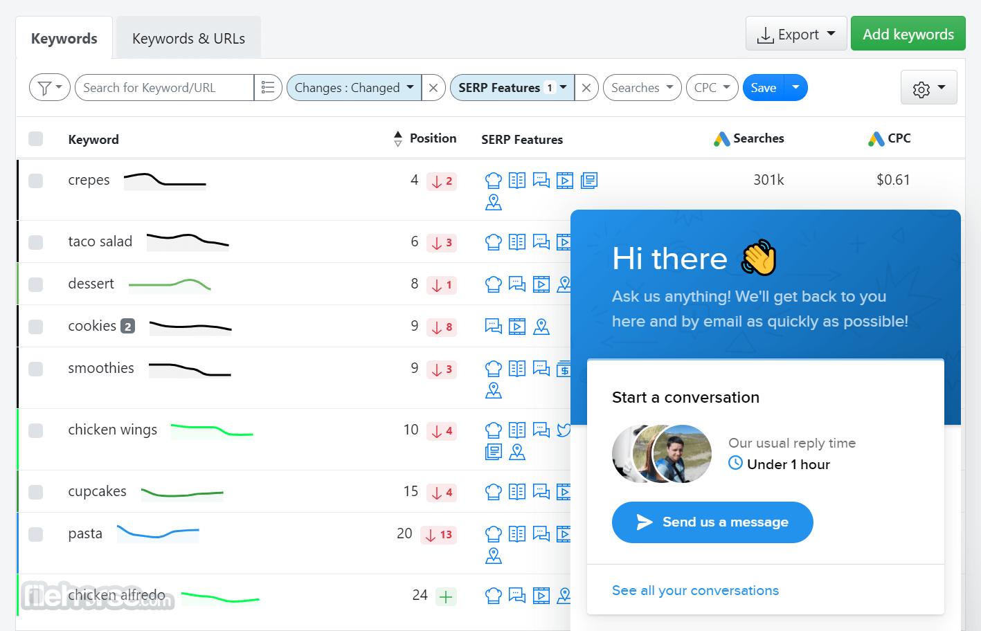 Advanced Web Ranking Screenshot 4