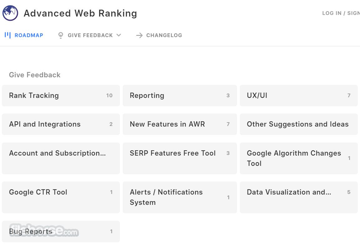 Advanced Web Ranking Screenshot 5