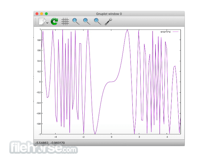 Gnuplot 5.2.8 Screenshot 1