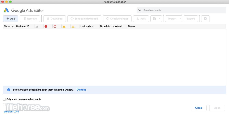 Google AdWords Editor 1.4.0 Screenshot 2