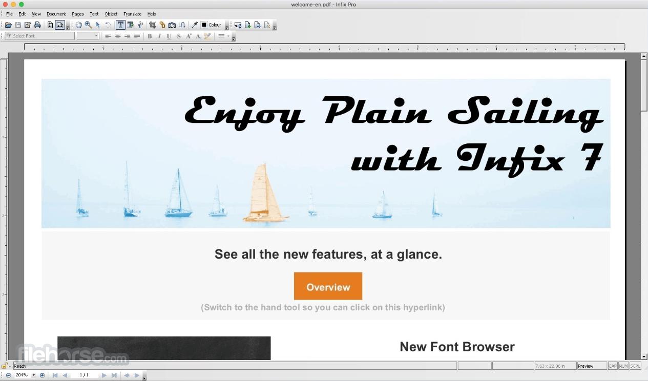 Infix Pro 7.5.0 Screenshot 1