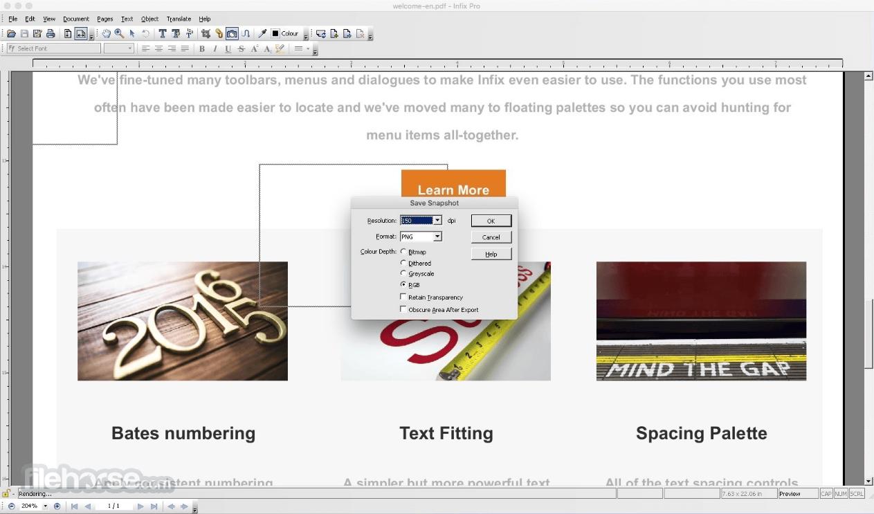 Infix Pro 7.5.0 Screenshot 2