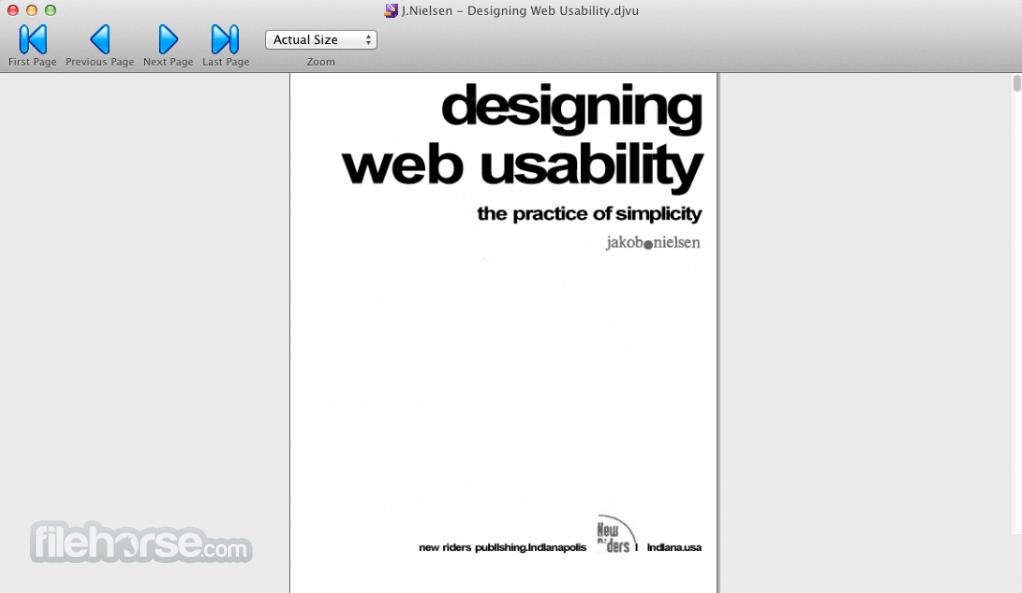 MacDjView 0.1.2 Screenshot 2