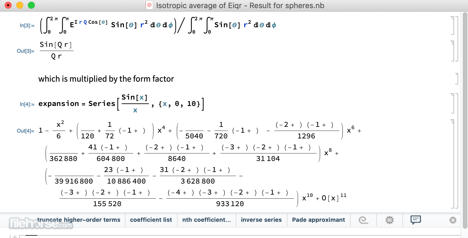 Mathematica 12 Screenshot 1
