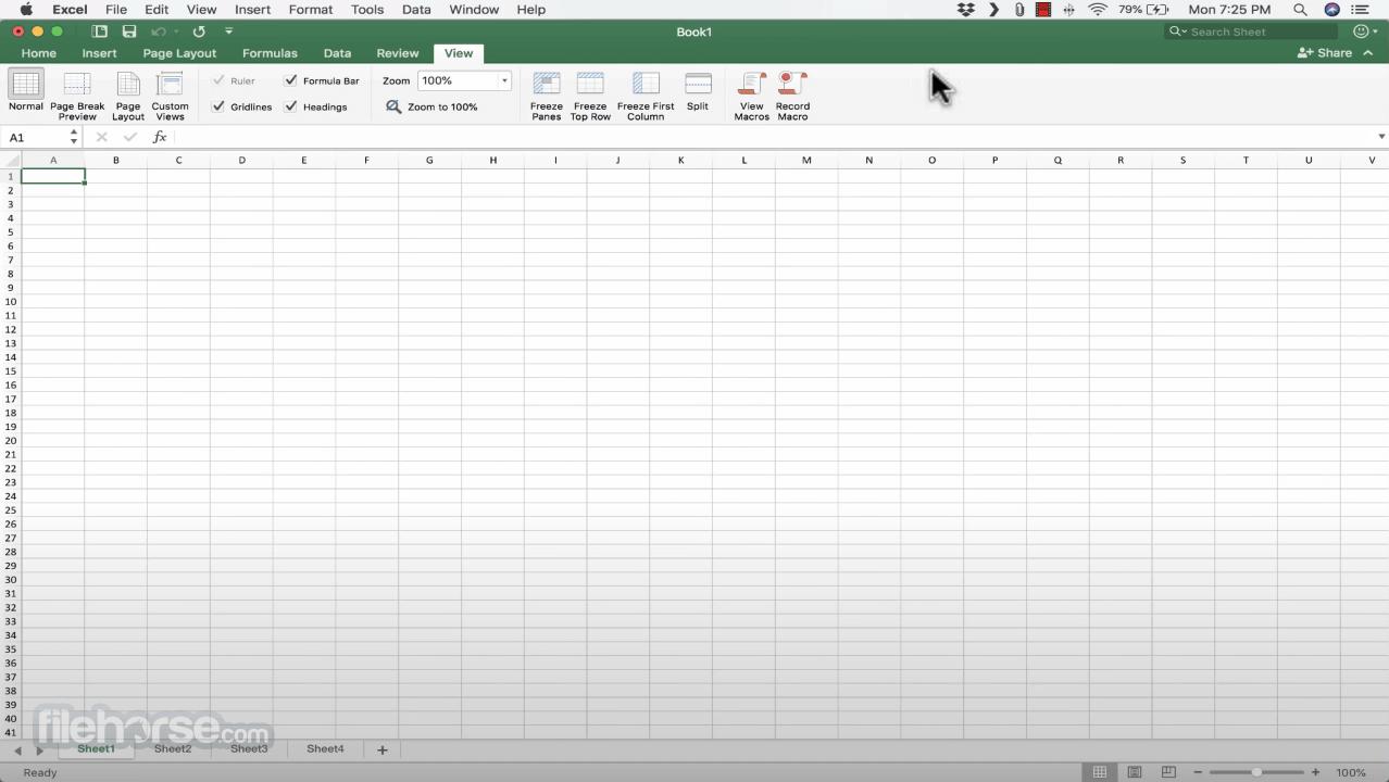 Microsoft Excel 16.35 Screenshot 2