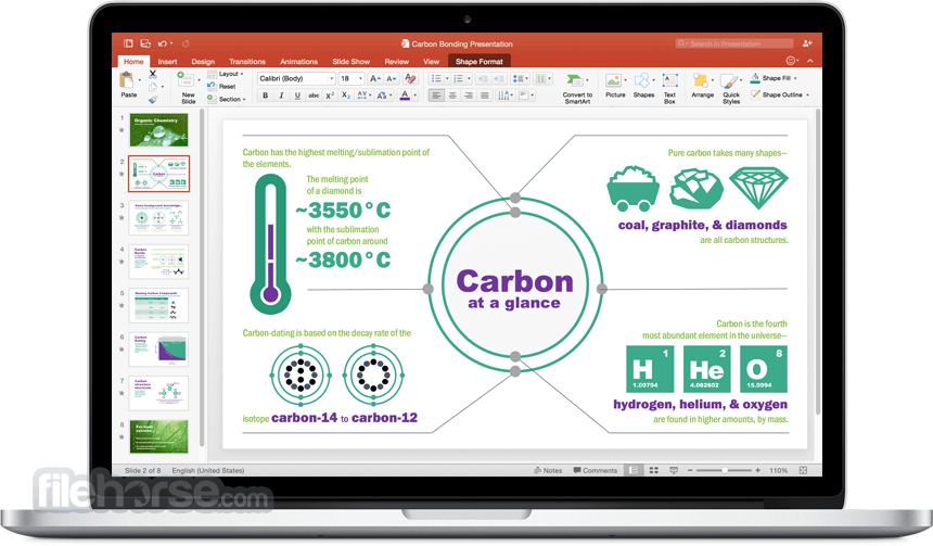 Microsoft Office for Mac 2016 16.19 Screenshot 3
