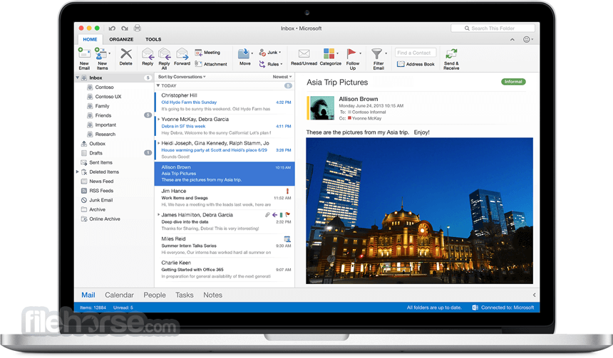 Microsoft Office for Mac 2016 16.19 Screenshot 5