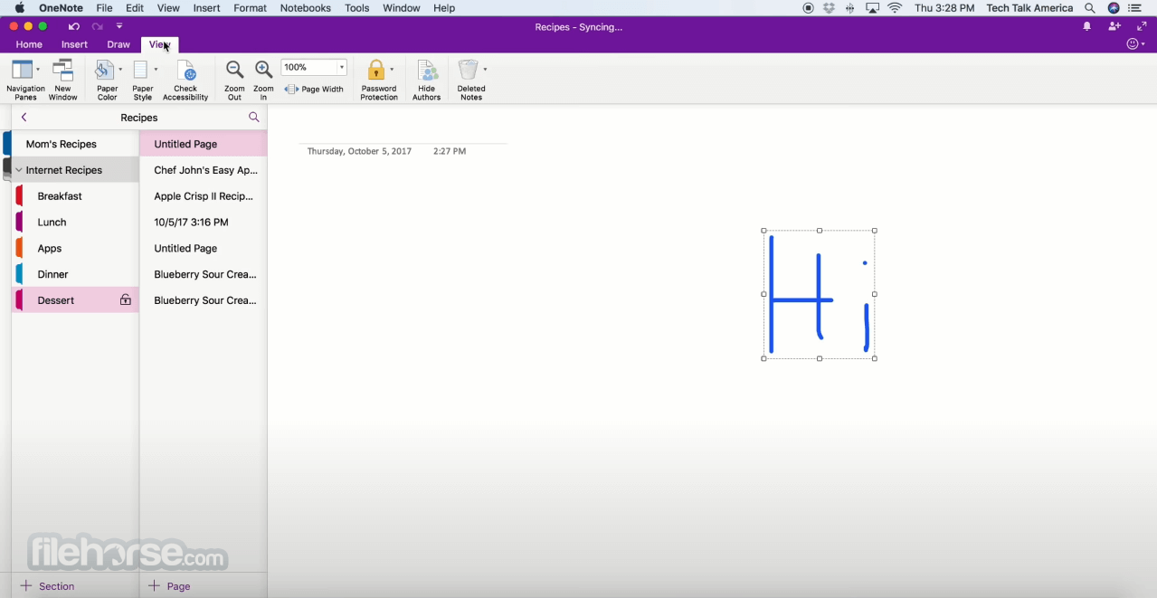 Microsoft OneNote 16.43 Screenshot 4