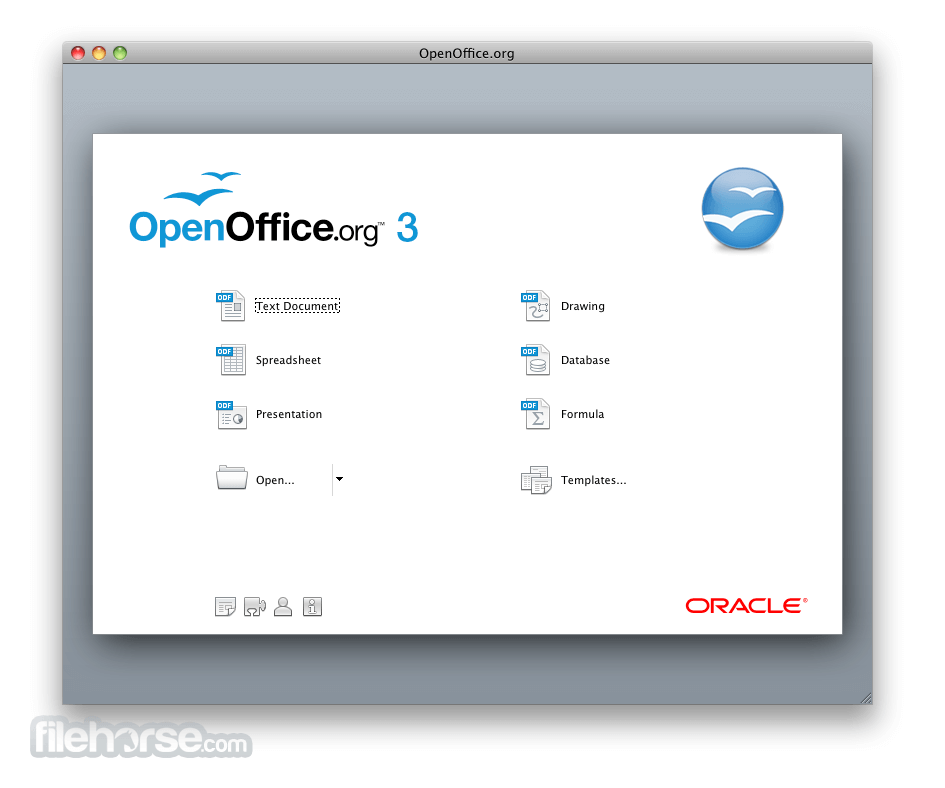 Apache OpenOffice 3.4.0 Screenshot 1