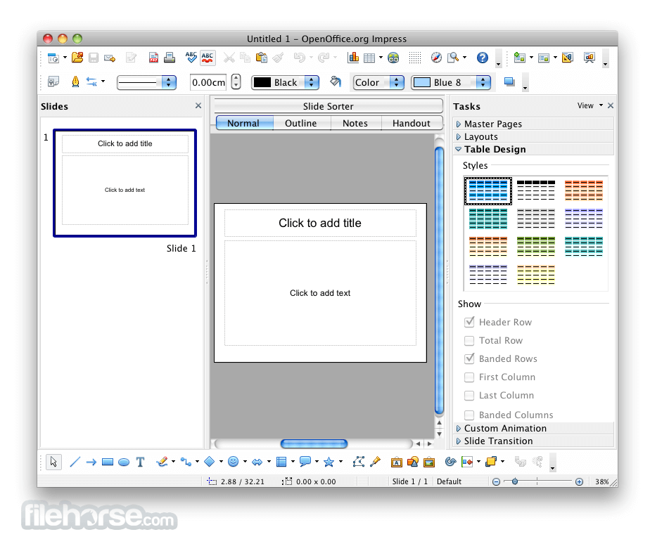 open office mac os x 10.6.8