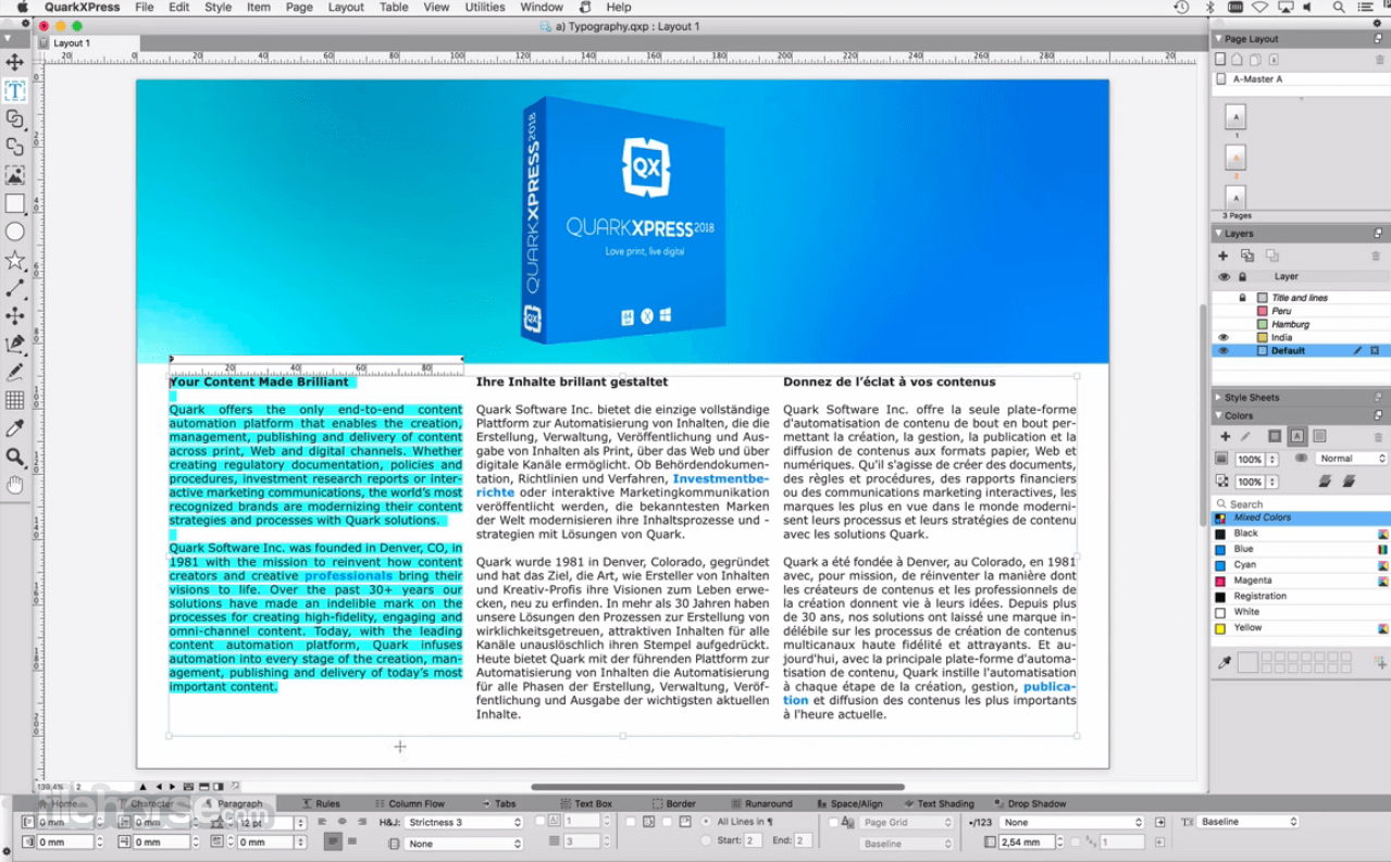 QuarkXPress 2020 16.0 Screenshot 2