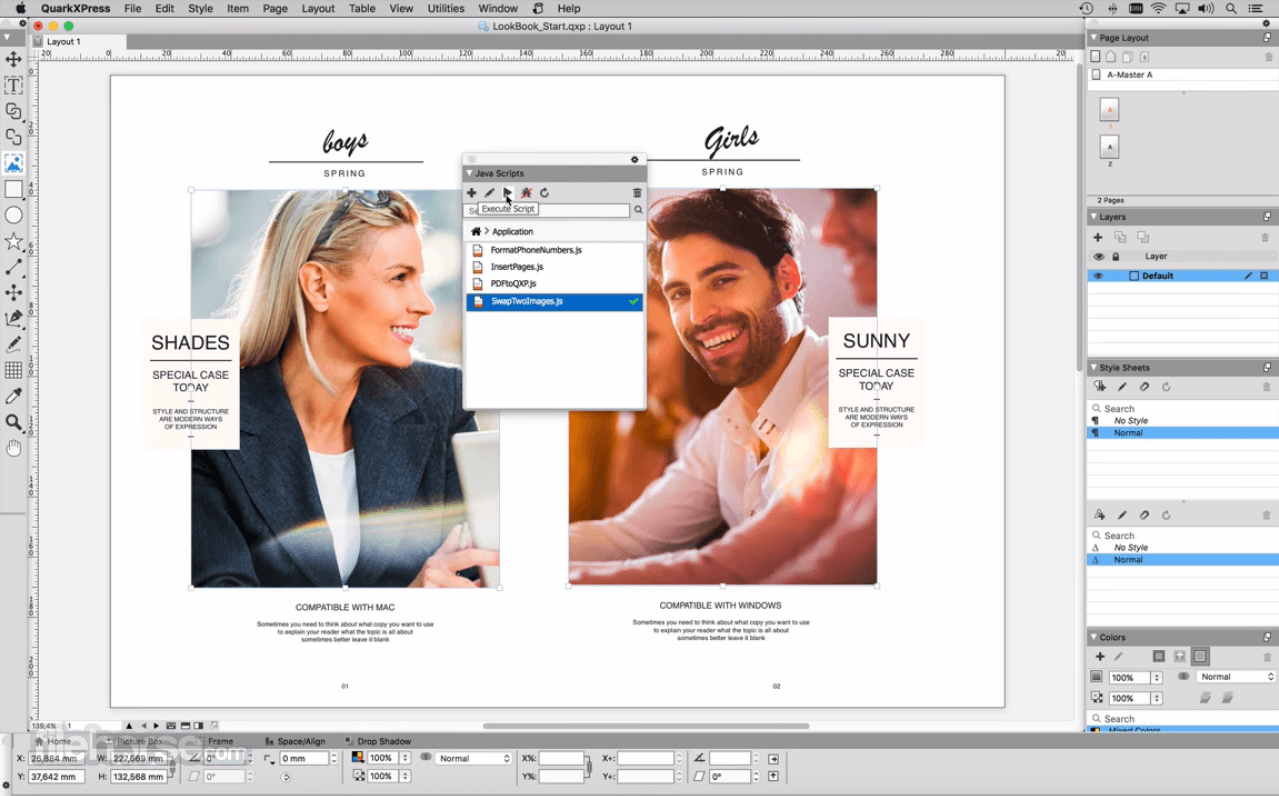 QuarkXPress 2020 16.0 Screenshot 3