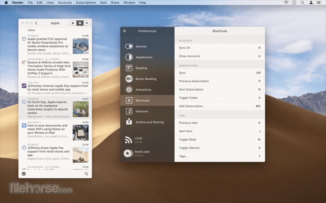Reeder 5.0.4 Screenshot 5