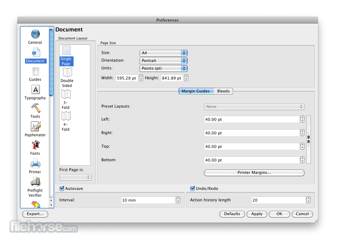 Scribus 1.4.3 Screenshot 4