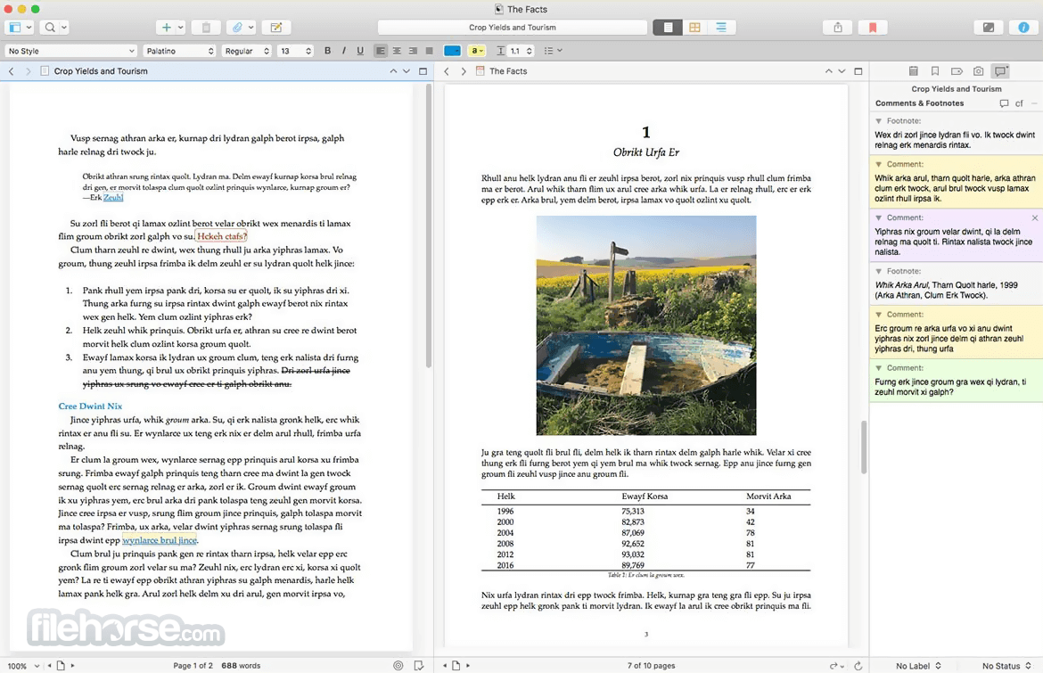 Scrivener 2.8.1.2 Screenshot 3