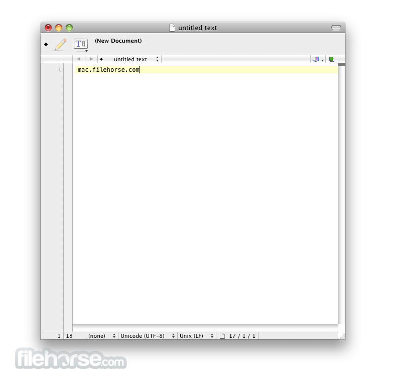 TextWrangler 5.5 Screenshot 1