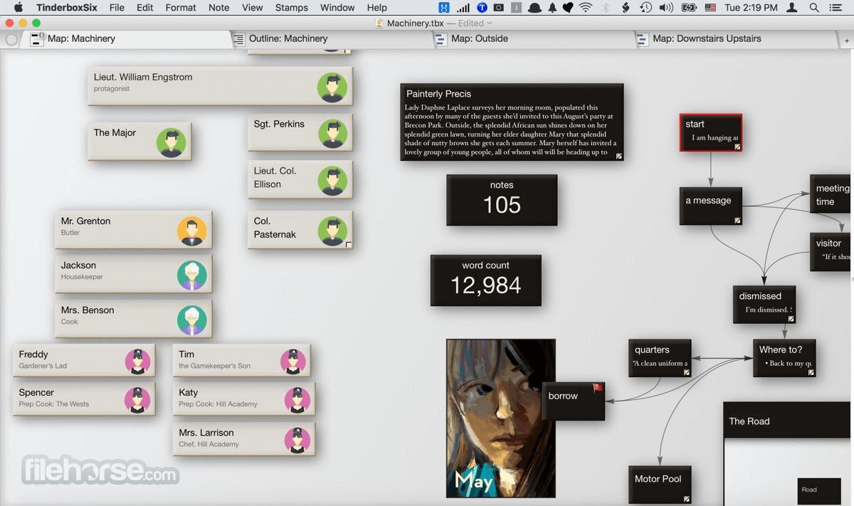Tinderbox 8.8.0 Screenshot 1
