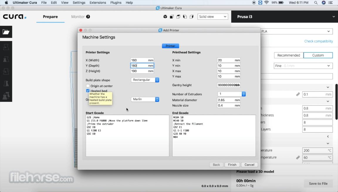 Ultimaker Cura 4.10.0 Screenshot 1