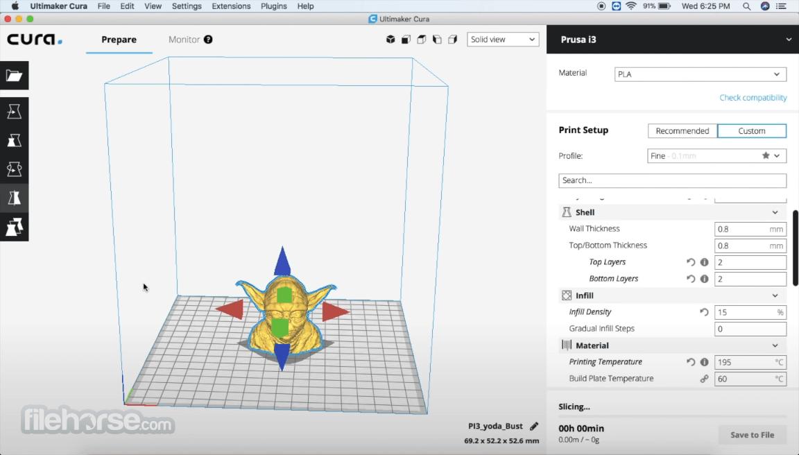 Ultimaker Cura 4.10.0 Screenshot 4