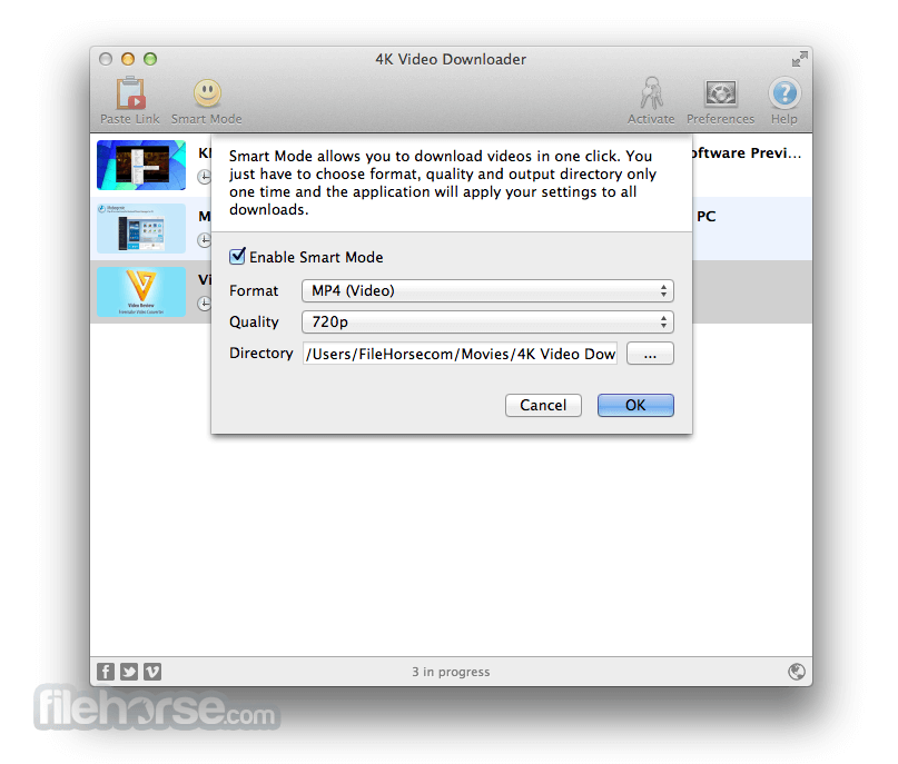 4K Video Downloader for Mac 3.0.2.1100 Captura de Pantalla 3