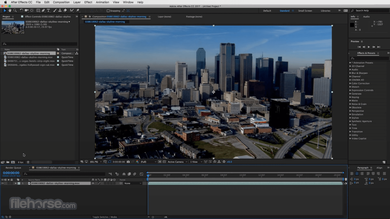 Adobe After Effects CC 2020 17.5 Screenshot 2