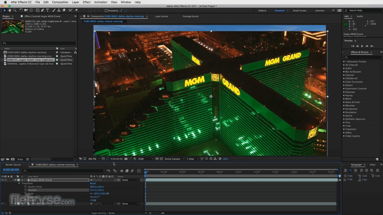 Adobe After Effects CC 2020 17.5 Screenshot 3