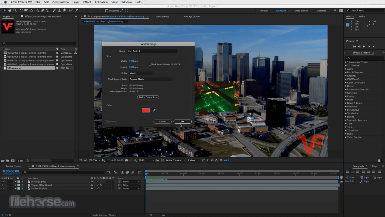 Adobe After Effects CC 2020 17.5 Screenshot 4