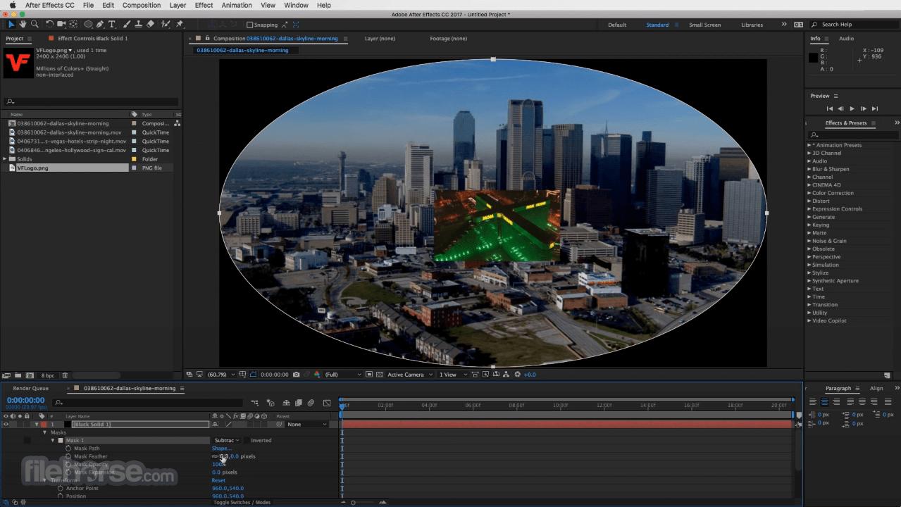 Adobe After Effects CC 2021 18.2 Captura de Pantalla 5